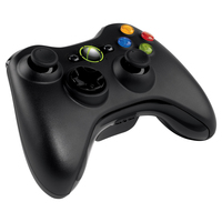 Official Xbox 360 Wireless Controller - Black for X360