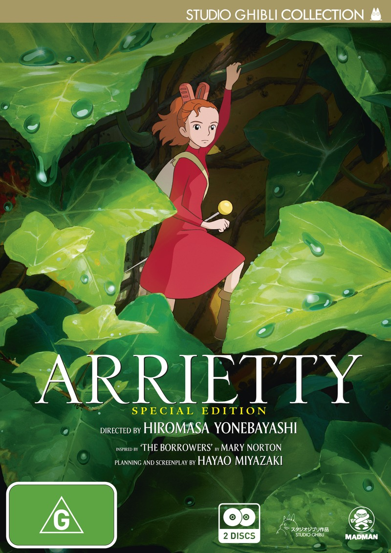 Arrietty (Special Edition) on DVD image
