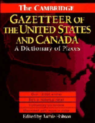 The Cambridge Gazetteer of the USA and Canada