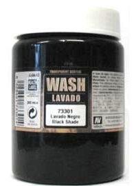 Vallejo 301 Black Dipping Formula Wash 200ml