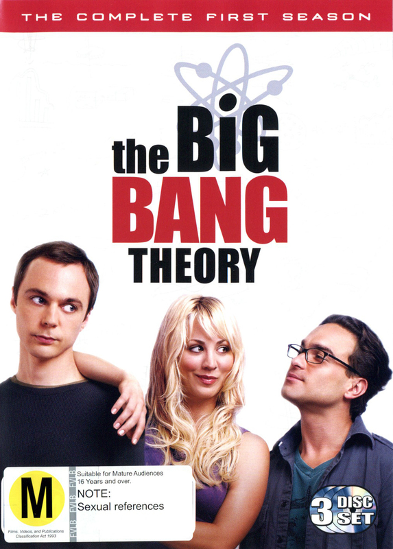 The Big Bang Theory - Complete 1st Season DVD