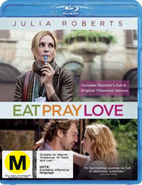 Eat Pray Love on Blu-ray