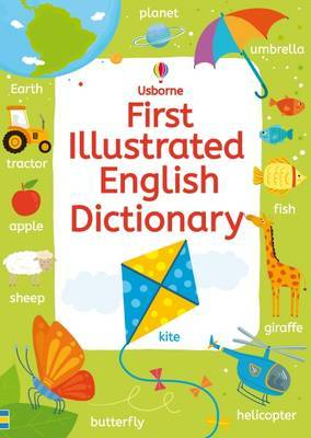 First Illustrated English Dictionary by Rachel Wardley