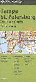 Folded Map Tampa / St. Pete FL Regional by Rand McNally