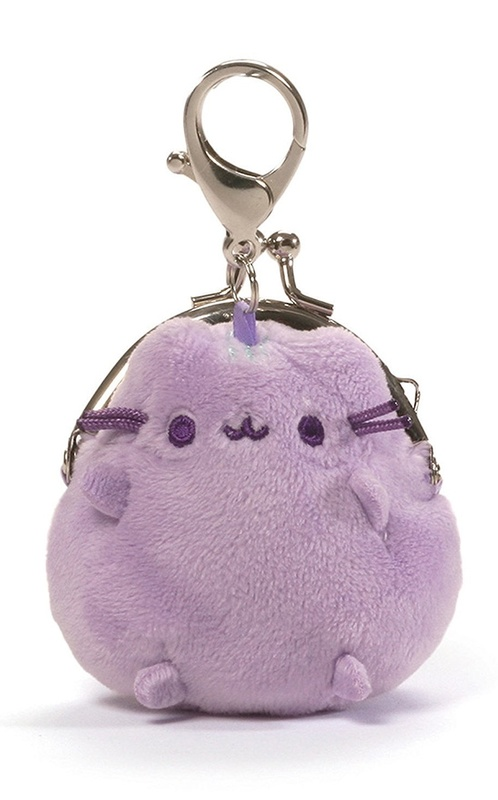 "Gund: Pastel Pusheen 3"" Coin Purse (Purple)"