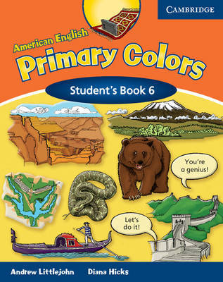 American English Primary Colors 6 Student's Book: Level 6 by Diana Hicks image