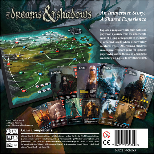Of Dreams & Shadows - Board Game image