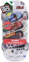Tech Deck: Fingerboards 4-Pack - (Blind)