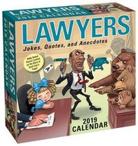 Lawyers 2019 Day-To-Day Calendar by Andrews McMeel Publishing