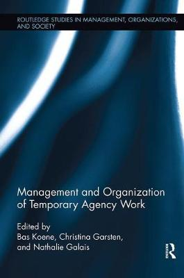 Management and Organization of Temporary Agency Work image