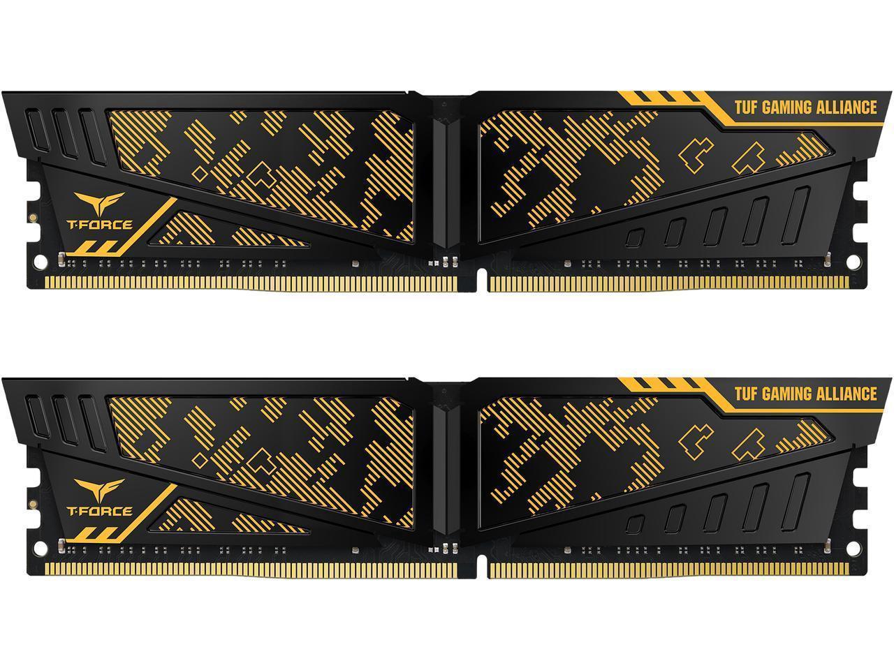 2x8GB Team VULCAN TUF Gaming Alliance 3600MHz DDR4 Gaming RAM image