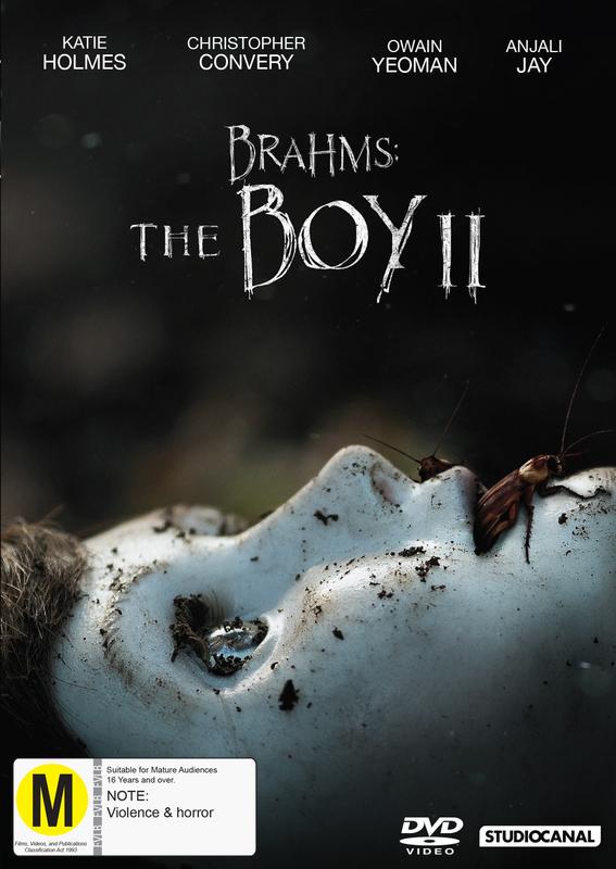 Brahms: The Boy II on DVD