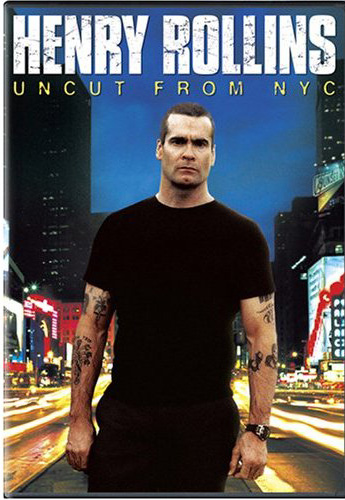 Henry Rollins - Uncut From NYC on DVD image