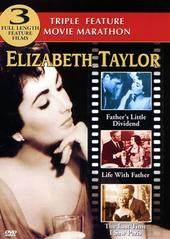 Elizabeth Taylor Triple Feature (father's Little Dividend/life With Father/last Time I Saw Paris) on DVD