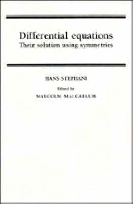 Differential Equations by Hans Stephani