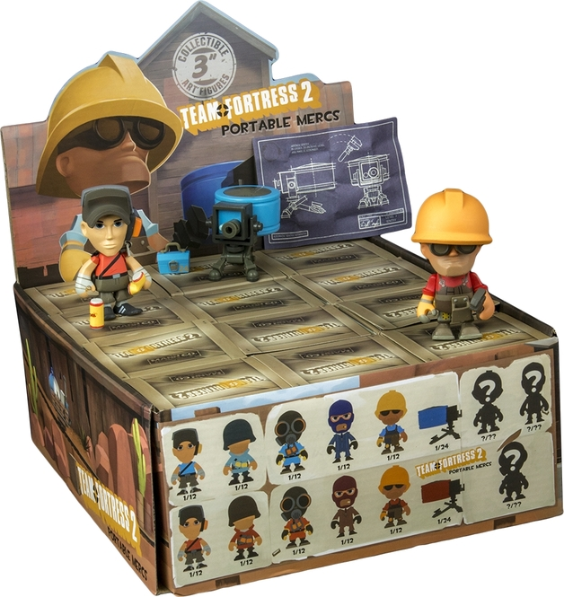 Team Fortress 2 Vinyl Minifigure Blind Box At Mighty Ape Australia