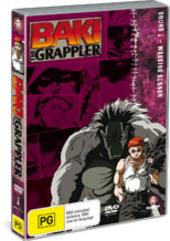 Baki The Grappler - Round 1: Warrior Reborn on DVD
