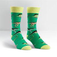 Mens - Santa Rex Crew Socks