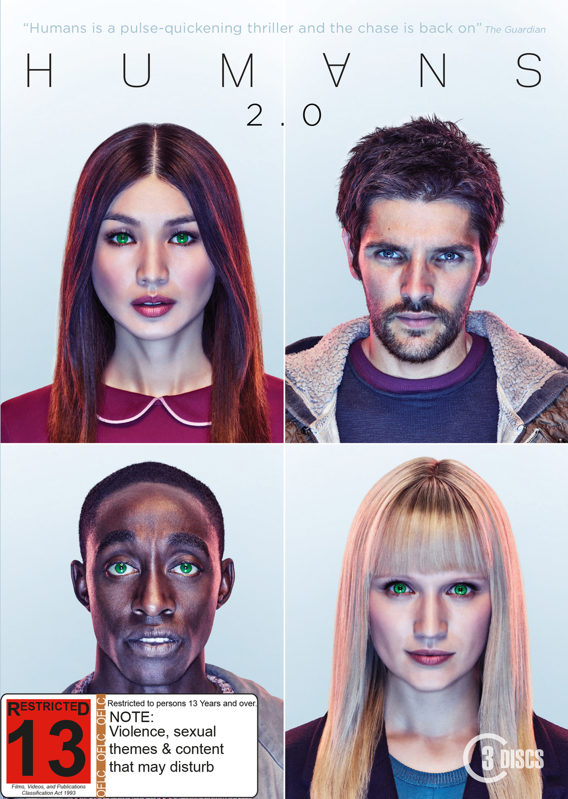 Humans 2.0 on DVD image