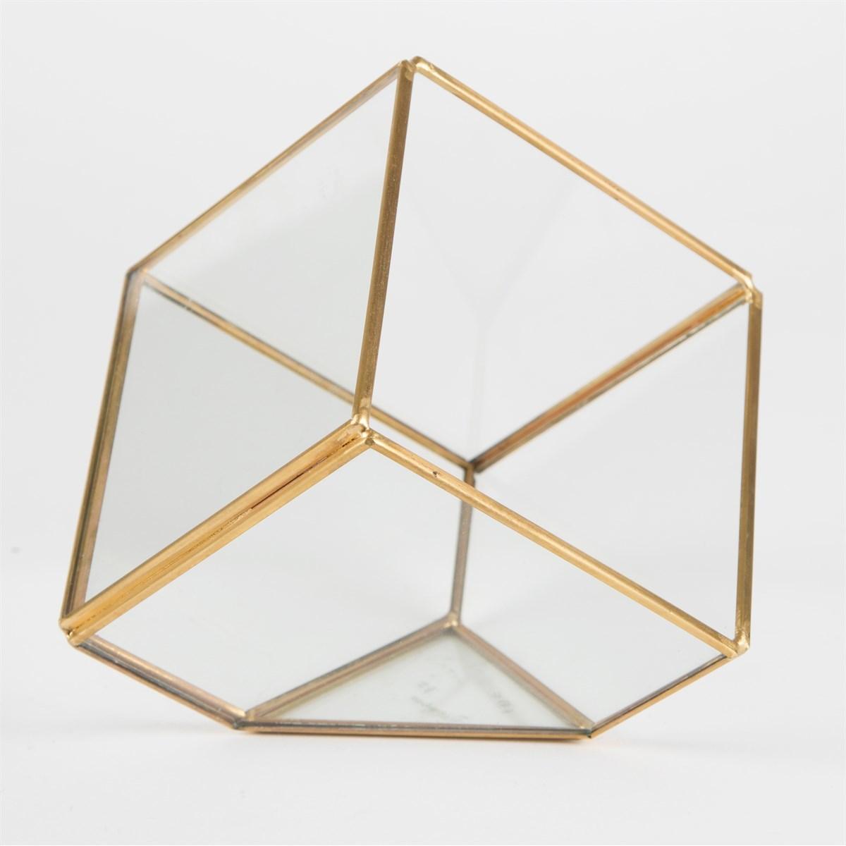 Brass Cube Terrarium image