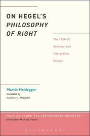 On Hegel's Philosophy of Right by Peter Trawny
