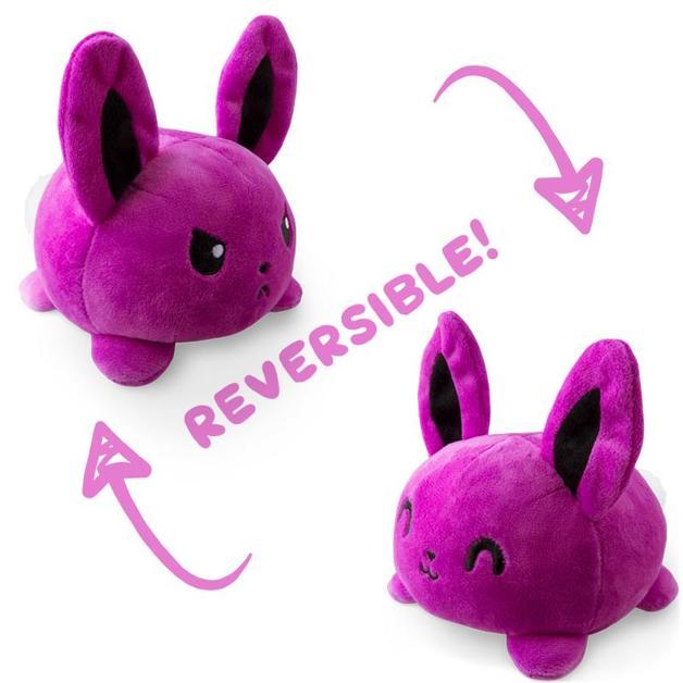 TeeTurtle: Reversible Mini Plush - Bunny (Purple)