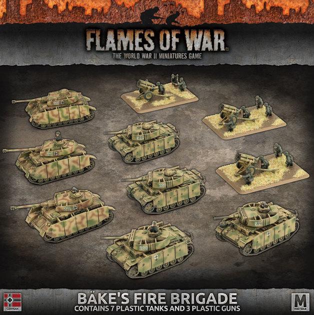 Flames of War: Bake's Fire Brigade