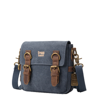 Troop London: Classic Small Shoulder Bag - Blue