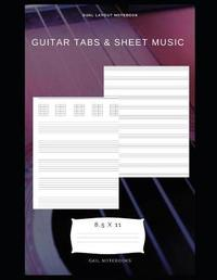 Guitar Tabs and Sheet Music by Gail Notebooks image