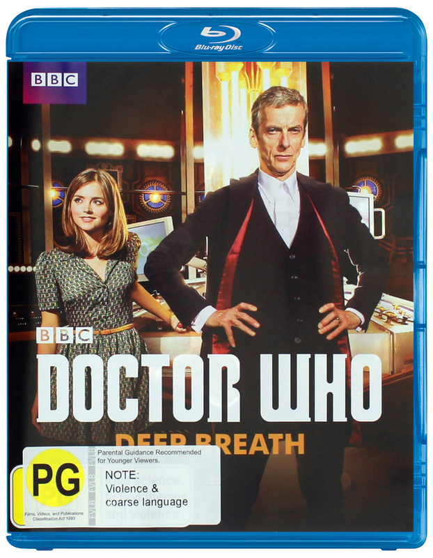 Doctor Who: Deep Breath on Blu-ray