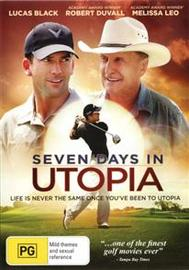 Seven Days in Utopia on DVD