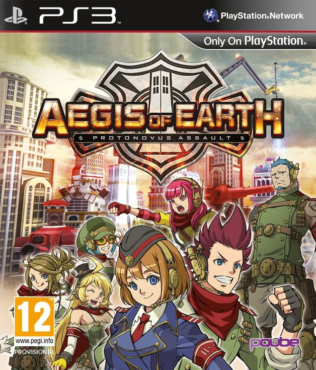 Aegis of Earth: Protonovus Assault for PS3