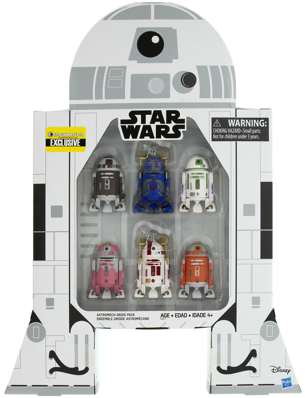 """Star Wars The Black Series: 3.75"""" Astromech Droid Collection"""