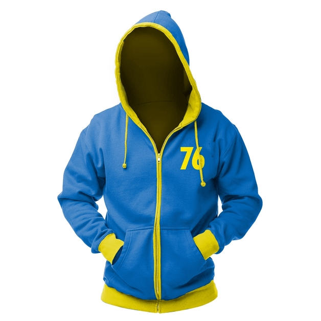Fallout Vault 76 Zip Hoodie (X-Large)