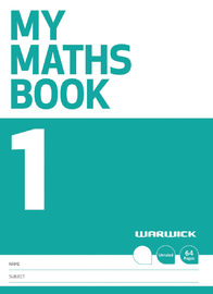 Warwick: My Maths Book 1 - Unruled