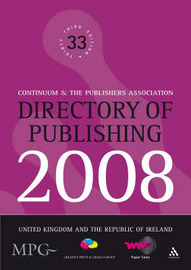 Directory of Publishing: United Kingdom and the Republic of Ireland: 2008 by Continuum image