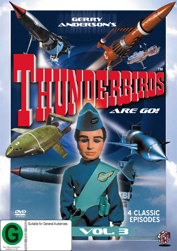 Thunderbirds Vol 3 on DVD