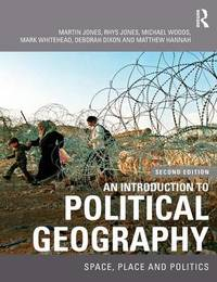 An Introduction to Political Geography by Rhys Jones image