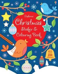 Christmas Sticker and Colouring Book by Jessica Greenwell