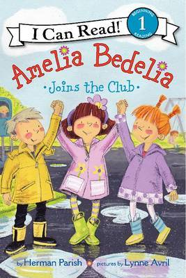 Amelia Bedelia Joins the Club by Herman Parish image