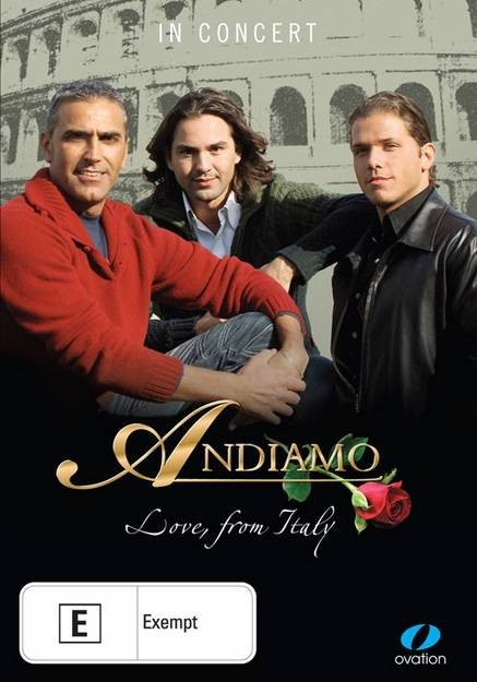 Andiamo - Love From Italy on DVD