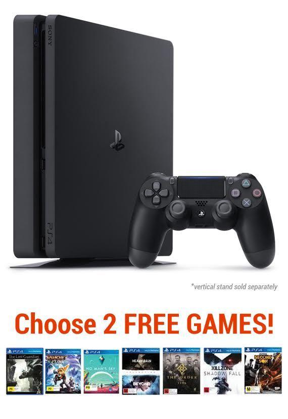PS4 Slim 1TB Value bundle for PS4 image