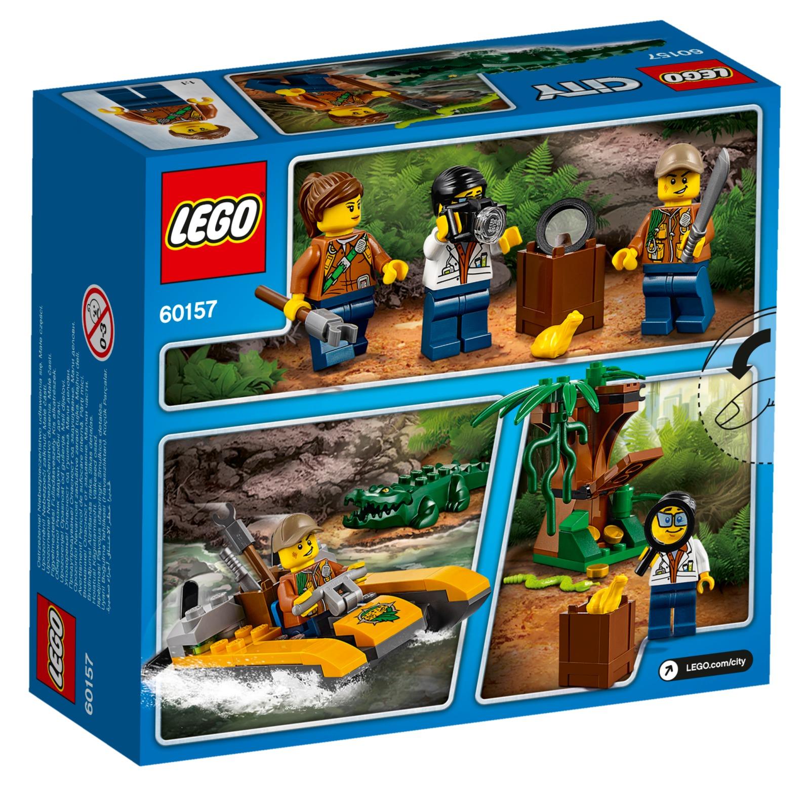 LEGO City: Jungle Starter Set (60157) | Toy | at Mighty Ape NZ