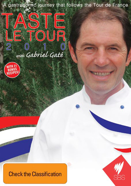 Taste Le Tour 2010 with Gabriel Gate on DVD image