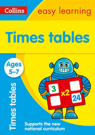 Times Tables Ages 5-7: New Edition by Collins Easy Learning image