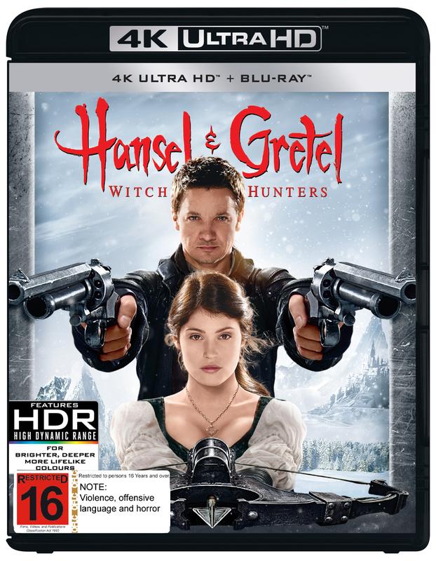 Hansel & Gretel: Witch Hunters on UHD Blu-ray