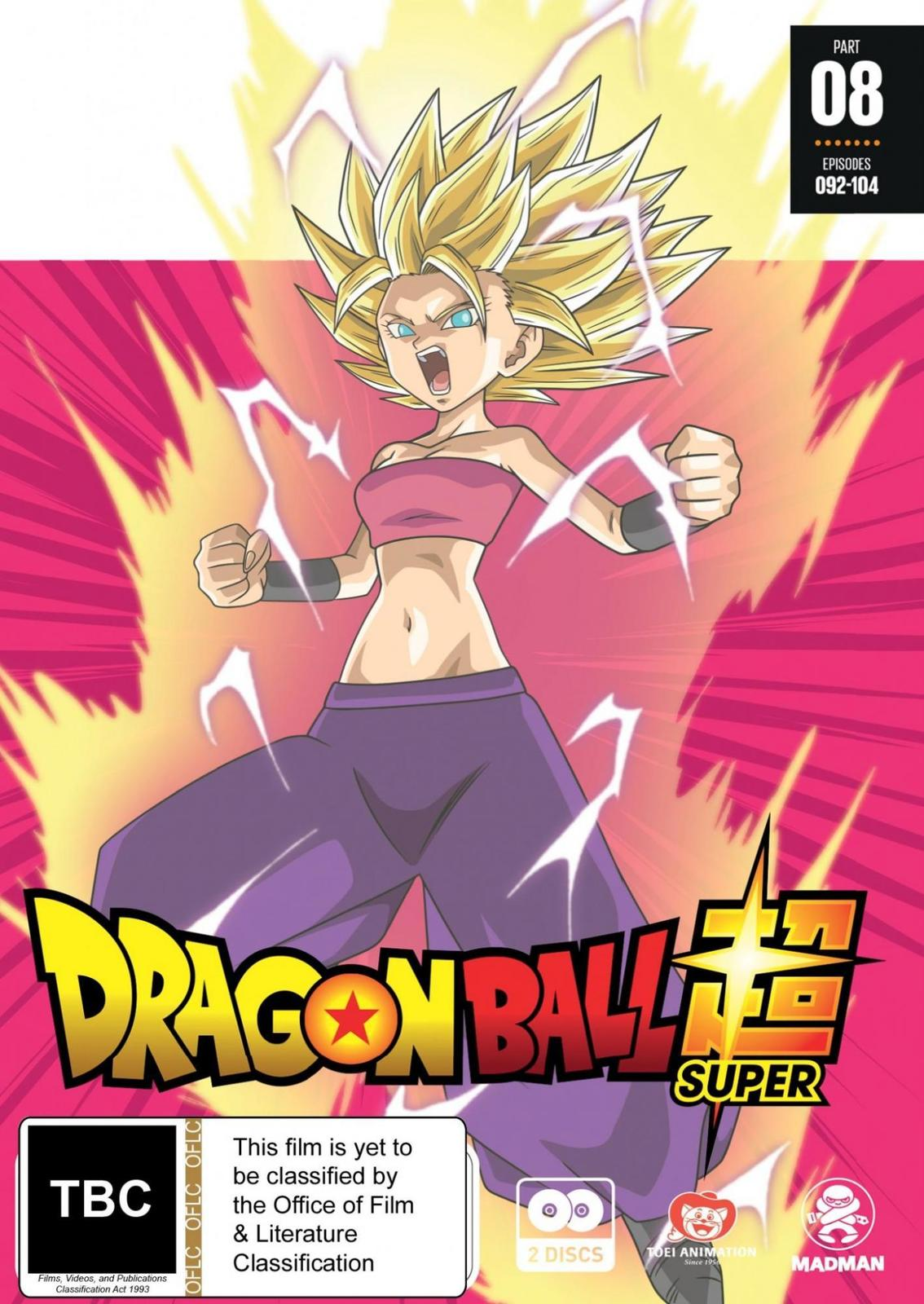 Dragon Ball Super - Part 8 (Eps 92-104) on DVD image