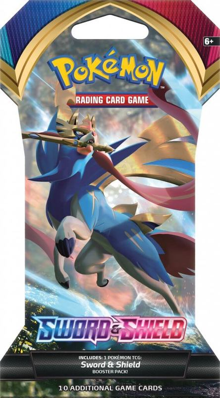 Pokemon TCG: Sword and Shield Single Blister (10 Cards)