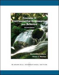 Principles of Environmental Engineering and Science by Mackenzie Leo Davis image