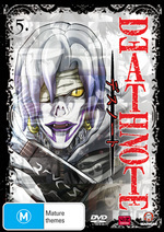 Death Note - Vol. 5 on DVD